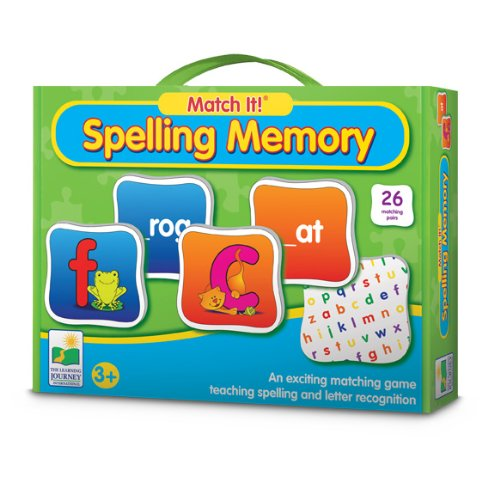 The Learning Journey Match It! Spelling Memory - 1