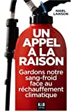 Un appel  la raison