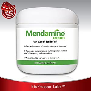 Mendamine Cream Multi-ingredient Pain Relief Cream for Tennis Elbow