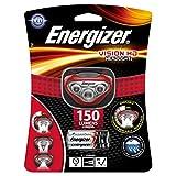 Lampara de cabeza Energizer Vision HD con luz LED, baterías incluidas.