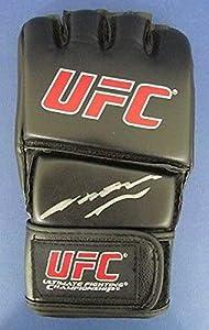 Anderson Silva UFC/MMA Autographed/Signed Glove JSA K80556 - Autographed UFC Gloves