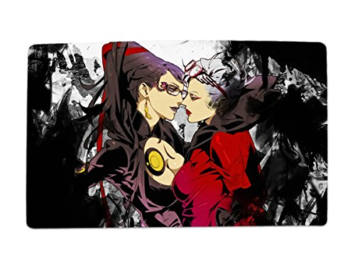 A Wide Variety Of Bayonetta Game Characters Desk & Mouse Pad Table Play Mat (Bayonetta 10)