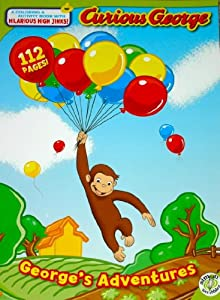 Curious George (George's Adventures) Coloring Book