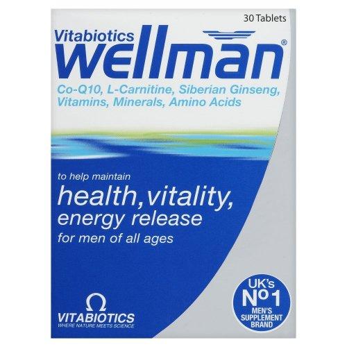Wellman Original 30 Tablets front-963094