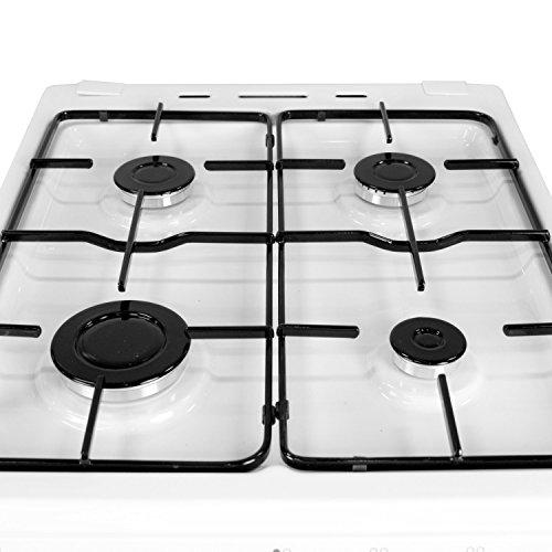 iQ 50cm Single Cavity Gas Cooker - White