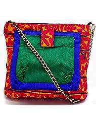 Handbags - Sling Bag - Rabari Work Sling Bag - Yellow Color - By Stylocus
