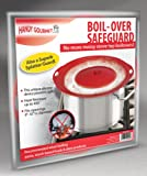 "Handy Gourmet Boil-Over Safeguard, Fits Openings 6"" to 10"" in Diameter"
