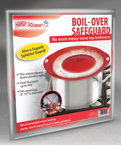 Handy Gourmet Boil-Over Safeguard, Fits Openings 6