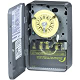 Intermatic WH40 Electric Water Heater Timer, Gray