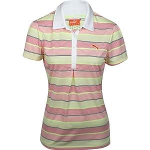Puma Golf NA Ladies Roadmap Stripe Polo Shirt by PUMA