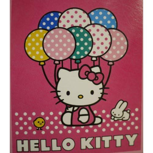 Sanrio Hello Kitty Plush Throw
