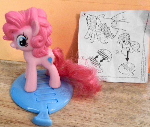 Mcdonalds Happy Meal My Little Pony Pinkie Pie From 2011 - 1