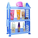 OutMad Outrake_048 Three Shelf Foldable Storage Rack (Violet)