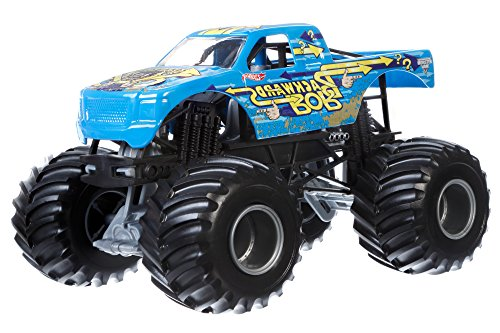 Hot Wheels Monster Jam 1:24 Scale Backwards Bob Vehicle (Backwards Bob Monster Truck compare prices)