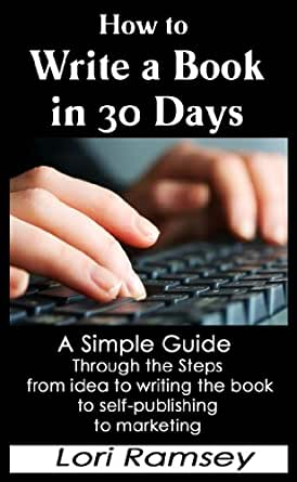 how to write a novel in 30 days amazon