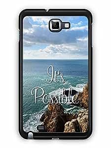 YuBingo It's Possible Designer Mobile Case Back Cover for Samsung Galaxy Note 1