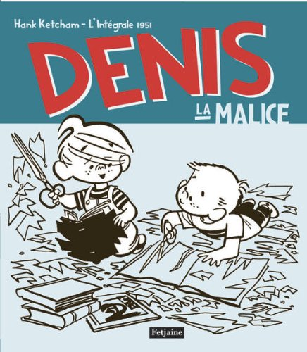 Hank Ketcham et Dennis the Menace ( Denis la Malice ) 51PxkVOLKuL