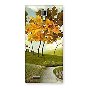 Cute Way Back Case Cover for Micromax Canvas Xpress A99