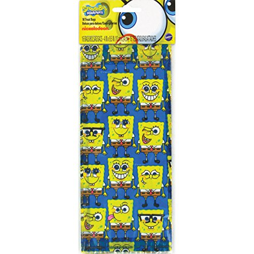 Wilton SpongeBob Squarepants Treat Bags