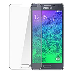 MoArmouz Go - Tempered glass Screen Protector For Samsung Galaxy A5 Clear Glass by MoArmouz- 9H Hardness - ULTRA CLEAR, REAL SHOCK PROOF, UNBREAKABLE, Screen Protectors HD Clear Tempered Glass Screen Protector