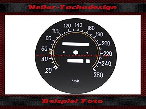 Tachoscheibe Mercedes 500Sl W107 R107 Elektronischer - Tacho Mph zu Kmh