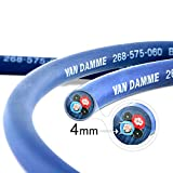 Van Damme Professional Blue Series Studio Grade 2 x 4.0 mm (2 core) Twin-Axial Speaker Cable 268-545-060 12 Metre / 12Mby Van Damme