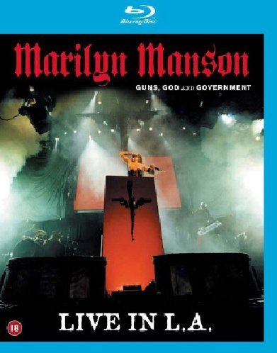 Manson Marilyn - Guns, God & government world tour