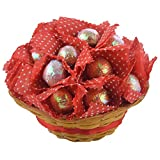 Choco Tree Red Chocolate Filled Cuppi Basket (Pack Of 15)