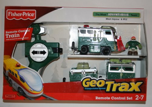 51Pxn2IwAIL Cheap  Fisher Price Geotrax Remote Control Most Adventurous Team Alpine & Will Will