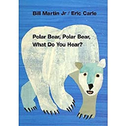 What Do You Hear Board Book Polar Bear for Pre School Child