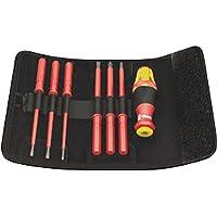 7 Piece Wera KK VDE 60i Insulated Interchangeable Blade Pouch Set