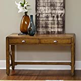 Town & Country Rectangular Distressed Sandstone Console Table