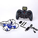 JOGOTO Alien Bug S80C Turbo Serie 2.4GHz 4 Channel 8 Axis Gyro RC Remote Control Helicoptor Quadcopter UFO Drone with 1080p HD Video/Picture Camera and 2 GB Micro SD Card (Color may vary)
