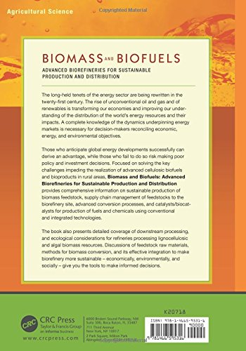 Biomass and Biofuels: Advanced Biorefineries for Sustainable Production and Distribution