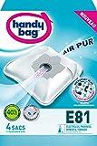 Handy Bag E81 Sac Aspirateur Microfibre Anti-allergène + Filtre Moteur Tornado Serenys Magnum