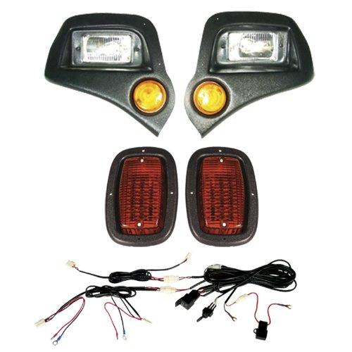 Best Turf West-Sp Ya G14-22 Light Kit Headlights,Led Taillights, Harness-Black