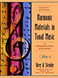 Harmonic Materials in Tonal Music: A Programmed Course: Part 2