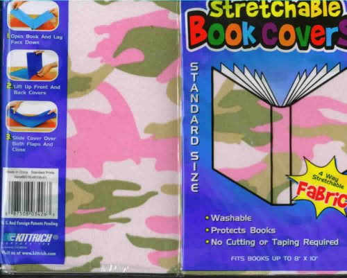 Book Covers For School Textbooks ~ Textbook covers pink green and tan camouflage standard