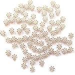 Pretty Pebbles Beads - 100 Tibetan Si...