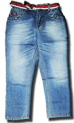 Topchee Kids' Jeans (JNK-15_Blue_11 to 12 Years)