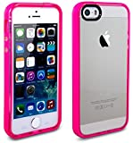 iPhone 5 Case, iPhone 5S Case, Case Ace® Silicone Slim Protective iPhone 5 5S Case Cover for Apple iPhone 5/5S (Rose)