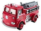 Disney Cars Deluxe Mega Wheel Well Motel Red Fire Truck