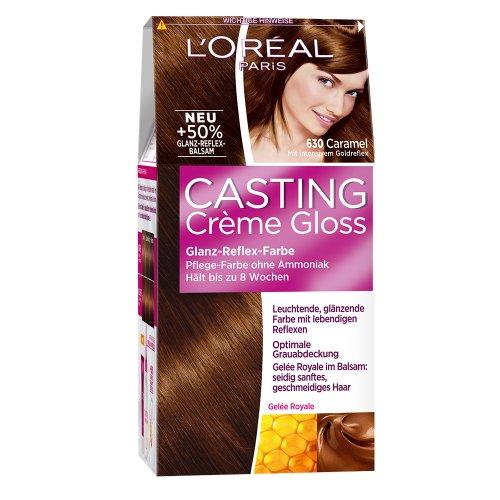 Loral Paris Casting Crme Gloss Pflege Haarfarbe 630 Caramel 2015 | Personal Blog