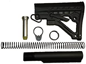 Scorpion Armaments SA-BS8 AR15/M16/M4 Collapsible Bustock - Sold by: 22mods4all - Free Shipping