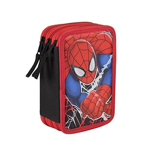 Spiderman - Plumier triple completo (Cerdá 2700-0168)