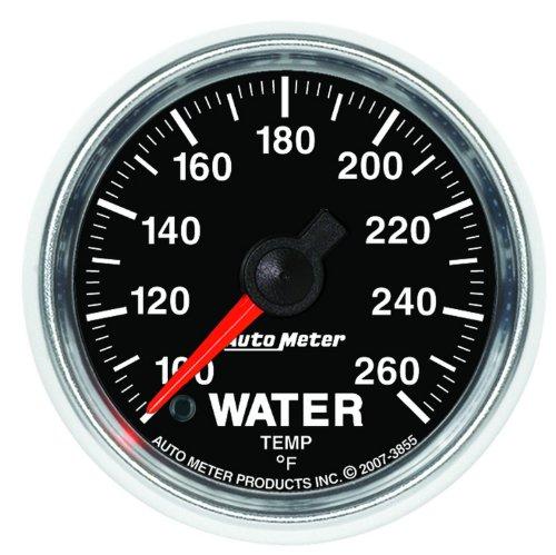 Auto Meter 3855 Gs Electric Water Temperature Gauge
