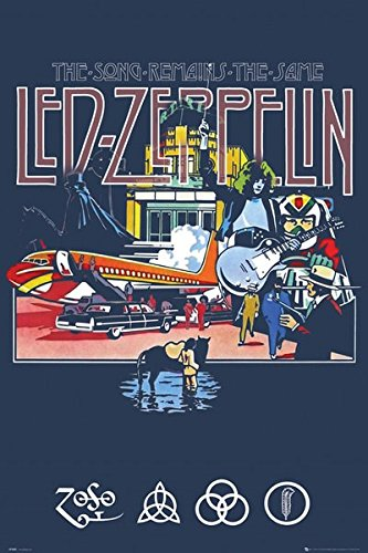 GB eye, Led Zeppelin, Remains, Maxi Poster, 61x91.5cm