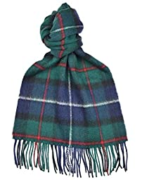 Lambswool Scottish Robertson Hunting Modern Tartan Clan Scarf Gift
