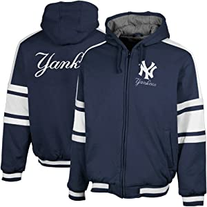 New York Yankees Tailgate Front Zip Fleece by G-III Sports