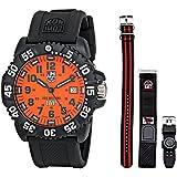 Luminox Men's 3059.SET Scott Cassell Specials Analog Display Analog Quartz Black Watch